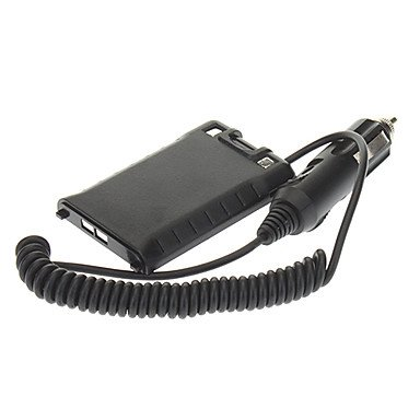 Walkie Talkie Quansheng TG-UV2 Car Charger Battery Eliminator Adapter