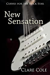 New Sensation: A Rockstar Romance (Curves for the Rock Star Book 1) (English Edition)