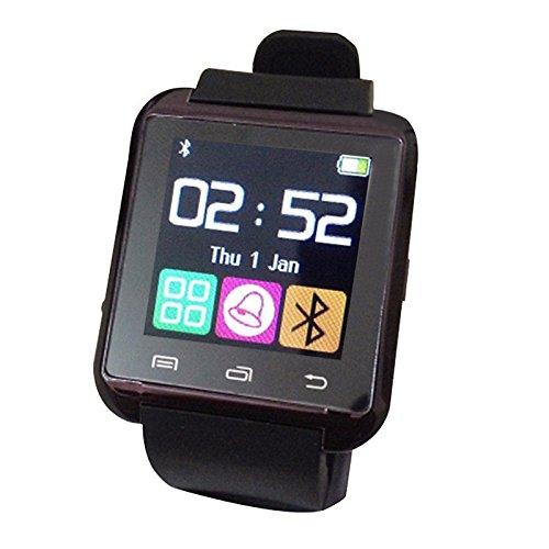 Galleria fotografica Lemumu Accessori speciali Smart Watch , Bluetooth4.0/WIFI / Controllo Media/messaggio di controllo Attività /Tracker/Allarme,Rubberband,Nero