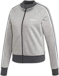 91301499ebf adidas Womens  Essentials Colourblock Full-Zip Bomber Track Top