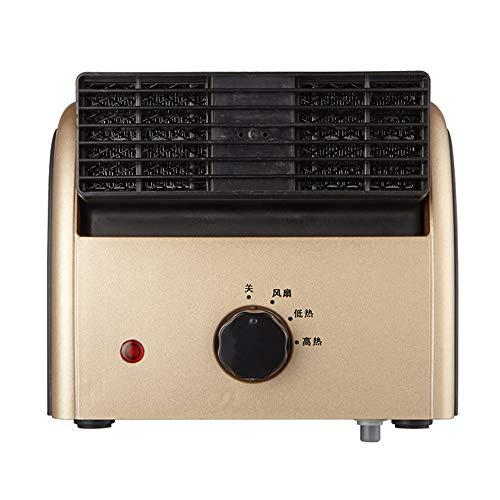 Radiador eléctrico MAHZONG Mini calefacción y refrigeración Ventilador de Doble Uso Home...