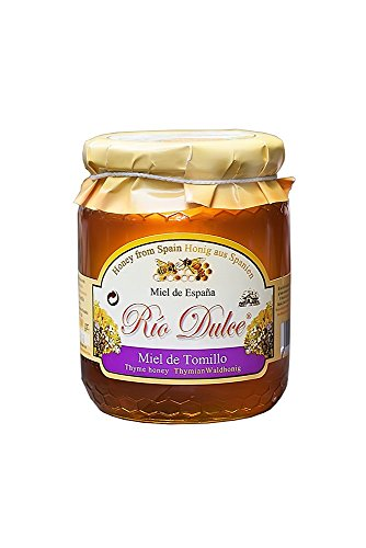 Rio Dulce Miel de Tomillo - Thymian Waldhonig aus Spanien (1 x 500 g)