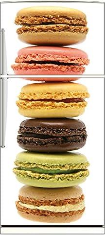 Stickers Macarons - Stickersnews - Sticker frigo déco cuisine Macarons