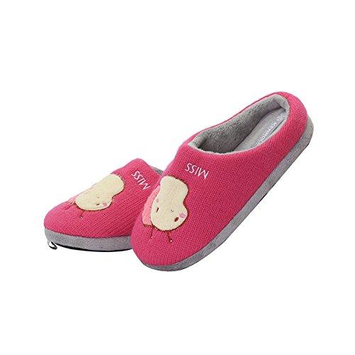 Kenroll Crianças Unissex Sapatos Quentes Chinelos - Meninos E Meninas Vermelhas