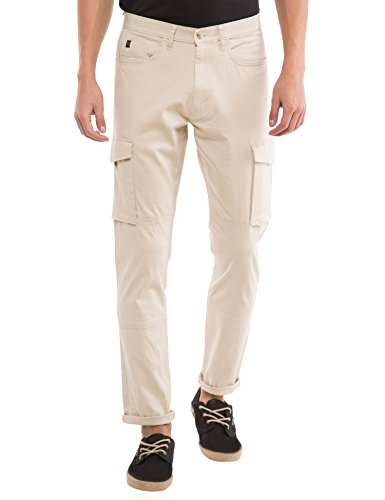 Locomotive Solid Beige Pant