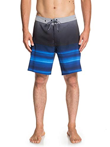 Quiksilver Highline Hold Down Board Short, Hombre, Electric Royal, 38