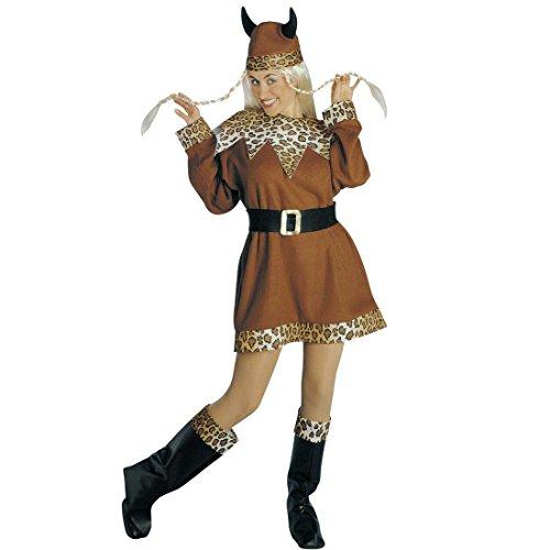 en Wikingerkostüm M 38/40 Mittelalter Barbarin Damenkostüm Wikingerin Heldin Mittelalterkostüm Seeräuber Barbarenkostüm Gallier Wickie Faschingskostüm Karnevalskostüme Frauen Sexy (Barbar Kostüm Frauen)