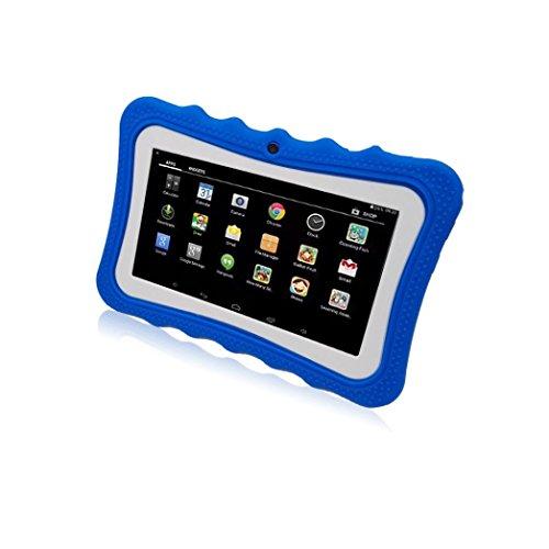 samlike Tablet ,7pollici Quad Core HD Tablet per bambini Android 4.4KitKat Dual Camera WiFi Bluetooth blu Blau