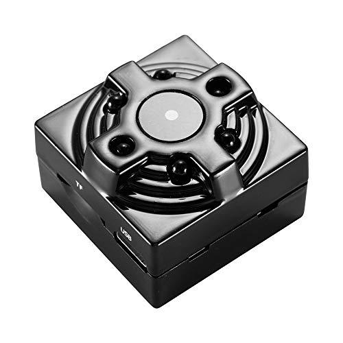 Fast Wireless Charger kamera , Mini-DV-CAM-WiFi-IP-Netzwerkkamera HD1080P Kindermädchen-Recorder Night 128 G Vision IR A16-Netzteil mit 6 Anschlüssen Schnellladestation Drahtloses Ladegerät für iPhone (Schwarz)