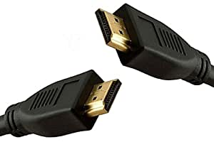 2m HDMI to HDMI Cable - 24k Gold Plated Audio & Video Lead - 1080p (Full HD) - v1.3 - Compatible with any HDMI Ready Device such as PS3, xBox, Sky, DVD, Blu-Ray & HD Ready TV & Monitors