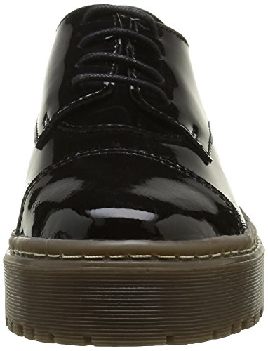 Shoe Biz Barea, Oxfords Femme Noir (Hologram Black)