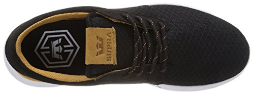 Supra - Hammer Run, Sneakers, unisex Nero (Noir (Black/Brown/White))