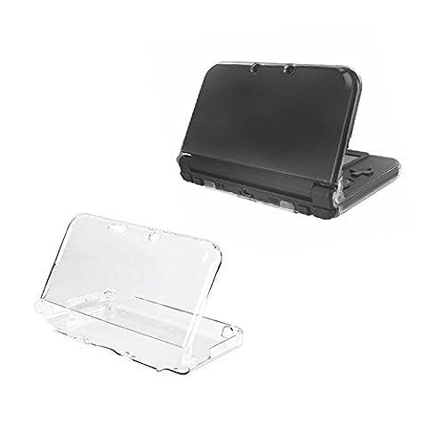 Orzly® - Coque InvisiCase pour console New Nintendo 3DS XL Modèle 2015 - 100% Transparente (Sandisk Modello)
