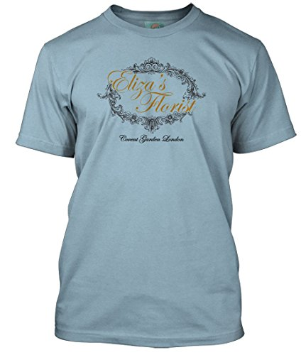 PYGMALION My FAIR Lady Inspired, Herren T-Shirt, Small, Light Blue - Fair Lady My Bekleidung