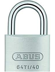 ABUS H17 54573 Cadenas à clé extérieur Titalium 64TI/40