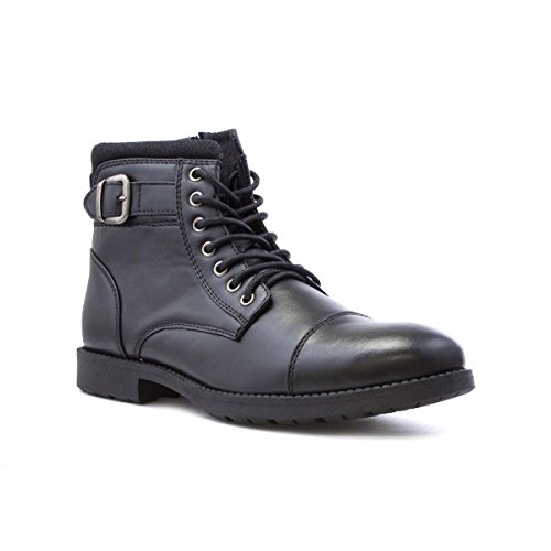 Beckett Mens Black Zip Up Ankle Boot - Size 9 UK -...