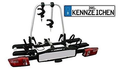Uebler Fahrradträger X21-S für 2 Fahrräder faltbar mit Kennzeichen (bitte bei Kauf mitteilen) 15760