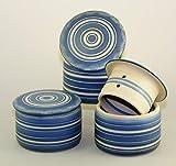 original französische wassergekühlte keramik butterdose, nie mehr harte butter zum frühstück, groß, zylinderförmig 250 g butter, syn Z-G