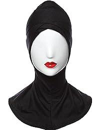 VOH Double Criss Cross Ninja Cap-Black Colour (Free Size)