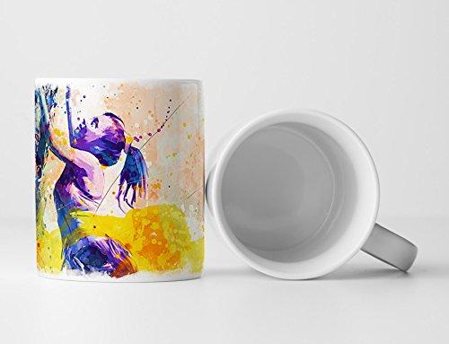 Klettern Tasse als Geschenk, Design Sinus Art