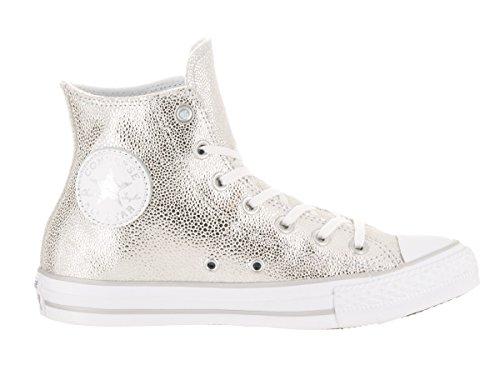 Converse - 154037, Sneaker alte Unisex – Adulto Metallisch