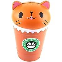 Jouet pour enfants Cute Tasse à café Chat assis dans une bouteille parfumée