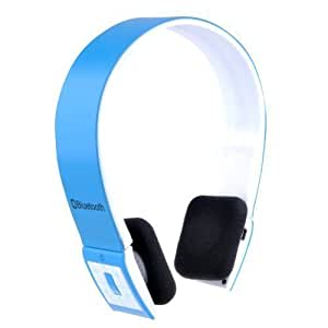 Patuoxun Blue Wireless Bluetooth Stereo Headset Headphone For iphone HTC Samsung Galaxy Cell phone PC Laptop