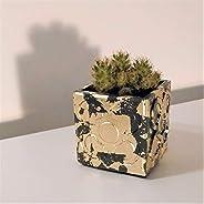 Maceta Panots acabado metal dorado, Barcelona, florero, portalápices, regalo bodas, regalo navidad, regalo eve