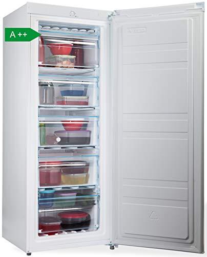PremierTech Congelatore Verticale Freezer 153 litri 24°gradi A++ 4**** Stelle PT FR153