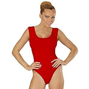 WIDMANN Sancto Cuerpo de peluche de color rojo, tamaño mediano y grande para vestidos de fantasía