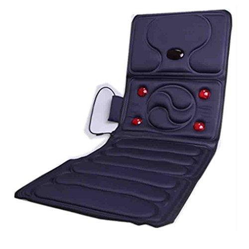Qing MEI Multifunktions-Home-Infrarot-Physiotherapie Massage Matratze Körper Massagegerät Kissen Faltbare Heizung Elektrische Gesundheit Massage Decke Größe 166X58cm A++ (Farbe : Blau) - Blaue Körper-massagegerät