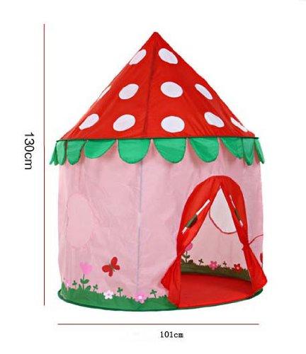 Giocattoli-per-bambini-fragolaStarmoon-Castello-Indoor-e-Outdoor-Bambini-tenda