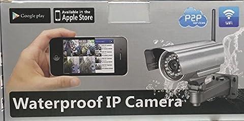 System eng IPCAM 11 Caméra IP de surveillance extérieure nocturne sans fil Wifi
