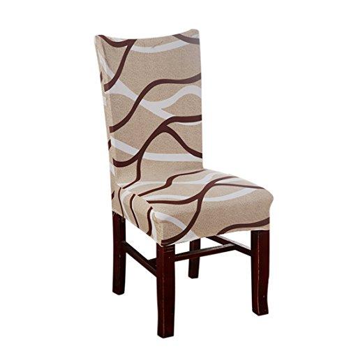 Nibesser Stuhlhussen Stretch Stuhlbezug Dekoration Stuhlüberzug für Universelle Passfor (Style 5)