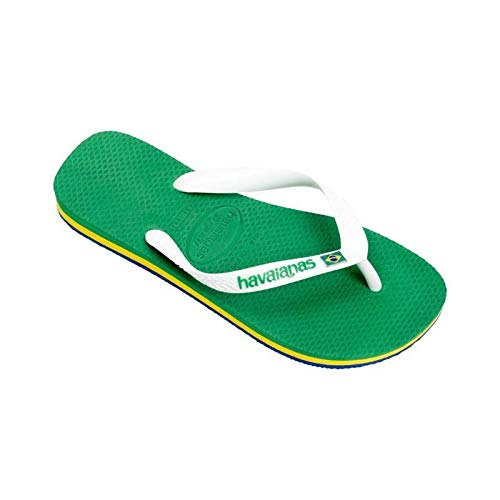 Havaianas Ciabatte Infradito BRASIL LAYERS Unisex Verde 4140715-2703