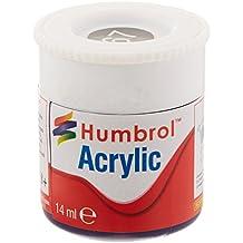 Humbrol - Pintura acrílico, color Tank Grey (Hornby AB0067)