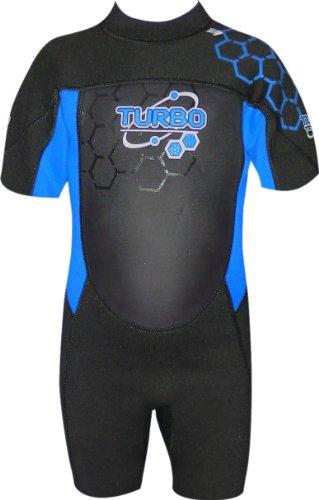 TWF - Traje para deportes acuáticos, color azul, talla UK: 14-15 años