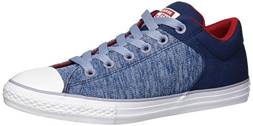 Converse - Street Heather Stoff-Slipper Unisex-Kinder, Blau (Navy/Glacier Grey/White), 27 EU M Kleinkind (Kleinkind Converse Schuhe 10)