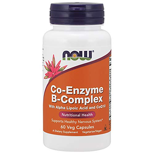Now Foods Co-Enzyme B-Komplex-Vitamine 60
