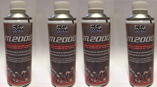 Zusatzstoff M2000Behandlung Öl Motor an Teflon Anti Verschleiß N.4STÜCK