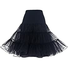 Dresstells®Mujeres Cancan 50s Retro Rockabilly Enaguas Miriñaques Faldas
