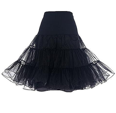 Robe Guinguette - Dresstells Jupon années 50 vintage en tulle