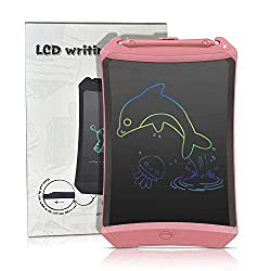 EUTOYZ Geschenke für Mädchen ab 2-10 Jahre, 2-10 Jahre Mädchen Geschenk LCD Schreibtafel Writing Tablet Grafiktabletts Schreibplatte Mädchen Spielzeug 2-10 Jahre Mädchen Rosa