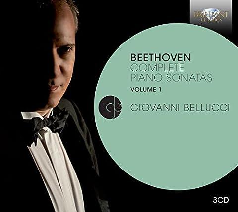 Beethoven : Intégrale des sonates pour piano, vol. 1. Belluci.