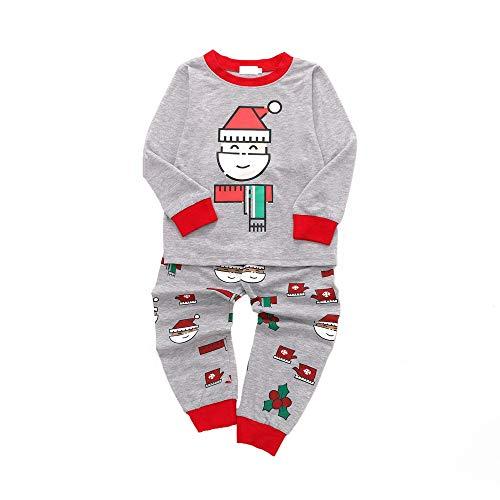 Covermason Baby Weihnachten Baby Kleidung,Covermason Kleinkind Kinder Baby Mädchen Junge Weihnachtsmann Weihnachten Top + Hosen Outfits Sweatshirt Nachtwäsche