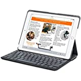 Funda con teclado Canvas de Logitech para el iPad Air (CARBON BLACK )
