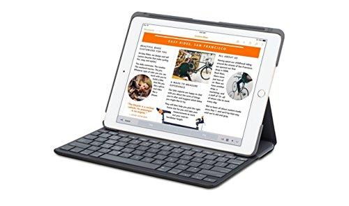 Funda con teclado Canvas de Logitech para el iPad Air (CARBON BLACK )