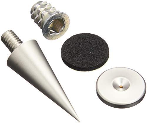 Dayton Audio DSS3-SN Satin Nickel Speaker Spike Set 4 Pcs. - Sn Satin Nickel