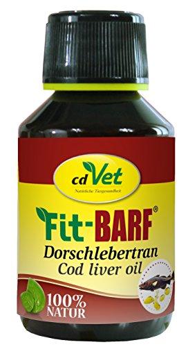 cdVet Naturprodukte Fit-BARF Dorschlebertran 100 ml