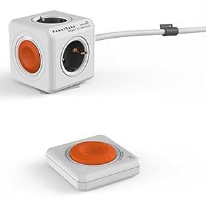 Allocacoc 1512/EUEXRM Gris, Orange, Blanc